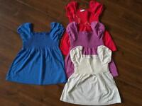 Girl M&S tops size 18-24mths,one is 2-3yrs ,New