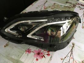 HEADLIGHT Mercedes Benz E Class W212 left hand side