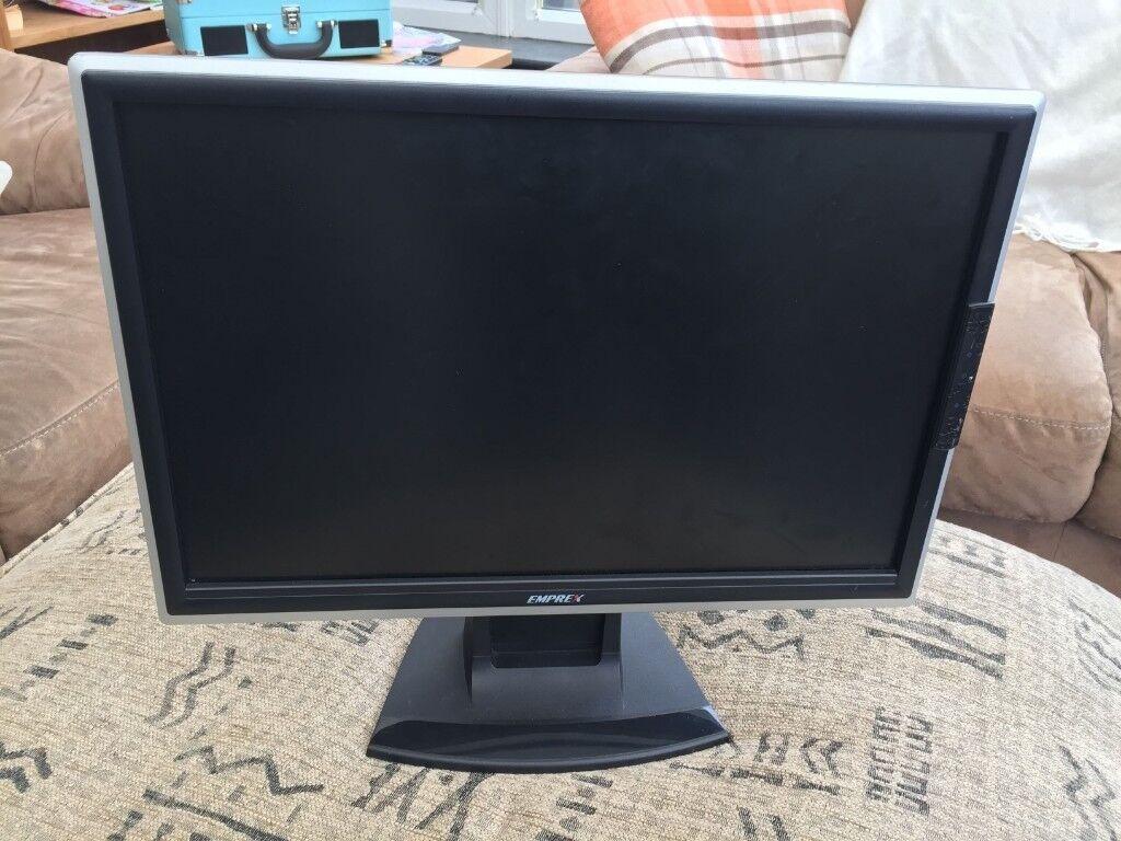 "Computer Monitor - 19"" Emprex Brand - Great Condition - £10"