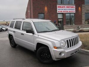 Super Clean 2008 Jeep Patriot SPORT, Sold Certified & E-Tested
