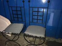 Wrought iron table free