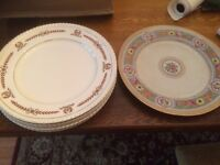 job lot of china dinner plates, starter plates, milk &sugar jugs etc. bough for wedding