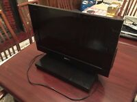 "Very Rare Sony Bravia 22"" TV with Built In Playstation 2 in Excellent Condition."