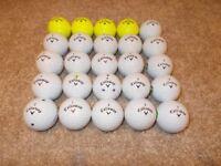 25 x CALLAWAY CXR Golf Balls - Good, playable condition