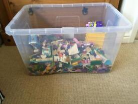 Job Lot Of Lego Mostly Lego Friends