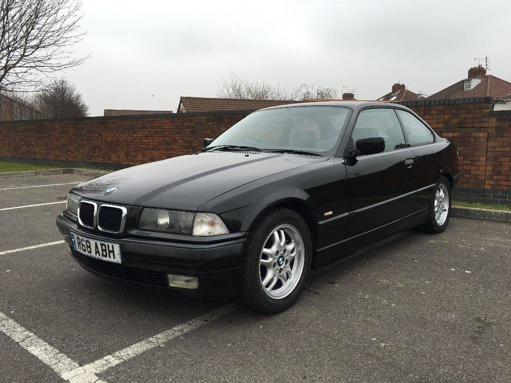 1997 bmw e36 328i coupe auto black sport leather seats in bedminster bristol gumtree. Black Bedroom Furniture Sets. Home Design Ideas