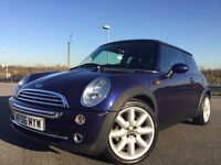 2006 MINI COOPER AUTOMATIC AMAZING RARE DEEP PURPLE COLOUR