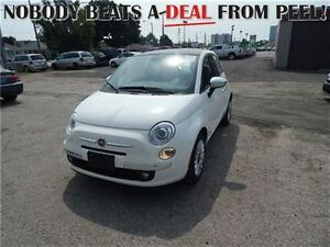 2016 Fiat 500 **BRAND NEW** Lounge only $22,995