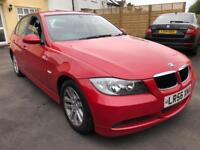 BMW E90 3 Series 320d SE Red Auto Low Miles FSH '56'