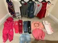 Batch of girls clothes, 92-98 cm, 18-24 months