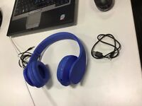 Wireless & Wired , Bluetooth , Micro Support SD/TF Card, Stereo Headphones, 4 in 1 (Royal Blue)