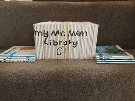 54 Mr Men books
