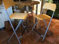 Two Ikea bar stools/chairs £15