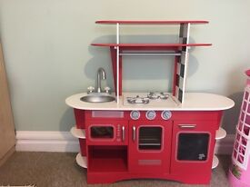 Early learning centre play kitchen , used but in good condition