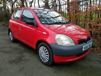 2003/52 Toyota Yaris 1.4 D4D 5 door £30 Tax year