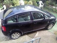 Audi A2 2002. With a bit of work a good, reliable car!!