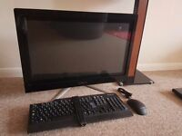 "24"" i5 8GB SSD Touchscreen PC W/New Keyboard and Mouse"