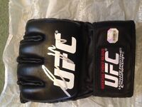 Signed sports memorabilia- personally signed Connor notorious McGregor UFC glove