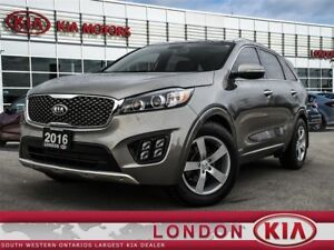 2016 Kia Sorento 3.3L SX 7-Passenger -- BLUETOOTH, BACK-UP CAM,