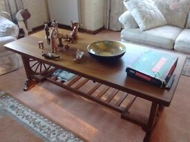 HAND MADE LARGE COFFEE TABLE