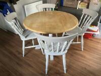 Farmhouse Shabby Chic Kitchen table