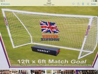 12 x 6 foot goal