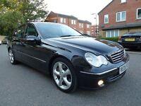 "2005 Mercedes C270 CDI Auto Avantgarde ""Leather"" Full Service History"