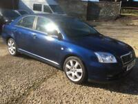 Toyota avensis breaking for spares parts