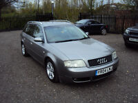 AUDI A6 1.9 TDI SE 5DR ESTATE DIESEL CVT AUTOMATIC LEATHER INTERIOR SERVICE HISTORY LONG MOT EXTRAS