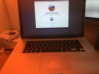 2012 Apple Macbookpro 15 2.3ghz quad core 16gb of ram 500gb hd