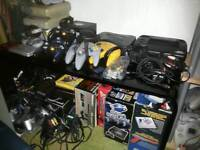 sega nintendo atari panasonic neo geo ps 1;2 consoles games and accessories wanted by collector