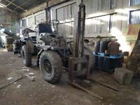 'Eager Beaver' 4x4 Tractor Wheeled Rough Terrain Forklift