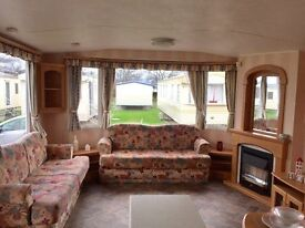 USED STATIC CARAVAN FOR SALE SITED ON FAMILY PARK IN NORTH WALES