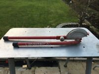 Rothenberger pipe bender 15mm 22mm without guides