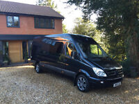 MERCEDES SPRINTER LWB CONVERTED WATERSPORTS OR MOTORSPORT VAN