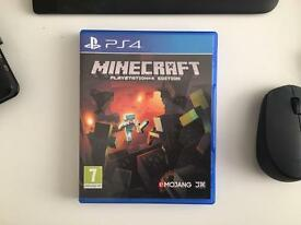 PS4 game - Minecraft