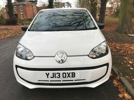 2013 VOLKSWAGEN TAKE UP, WHITE