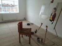 Artist studio to share