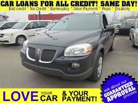 2009 Pontiac Montana SV6 EXT * CAR LOANS FOR ALL CREDIT