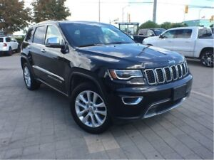 2017 Jeep Grand Cherokee LIMITED**PANORAMIC SUNROOF**LEATHER HEA