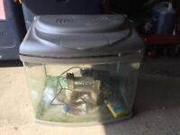 60L fish tank with pump
