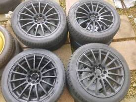 17inc 4 stud multifitt alloys sale or swap