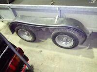 Ifor Williams plant trailer 3.5 ton