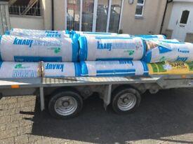 Rolls of insulation