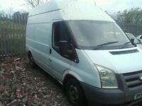 2007 Ford Transit mk7 2.2 tdci MWB high roof BREAKING FOR PARTS SPARES