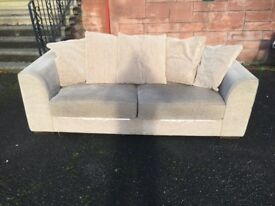 Three seater sofa from Next ultra comfortable in first class condition.