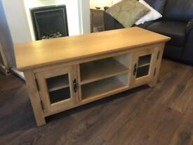 Solid wood TV cabinet ex Argos