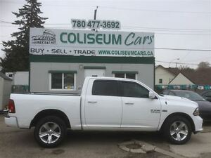 2014 Dodge Ram 1500 SPORT, LEATHER, 4X4, 50KM