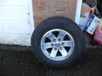 FORD RANGER 2006 ONWARDS SPARE WHEEL AND TYRE XLT OR THUNDER OFFER ME FOR IT