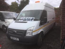 Ford transit lwb Euro 5 2013 2.2 rwd 125 ps clean van £5850